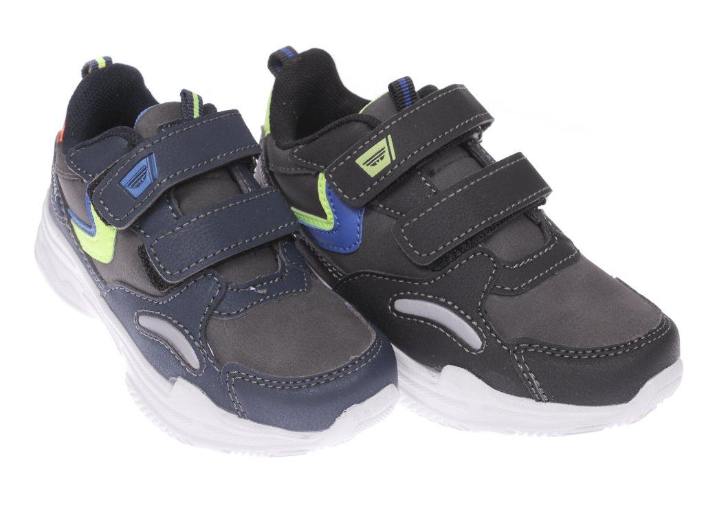 Buty sportowe dziecięce Badoxx C5XC 8020 czarne i granatowe rozm.31 36