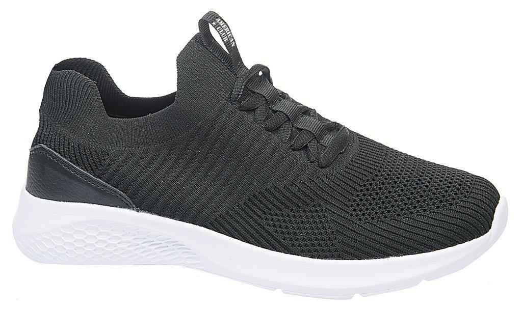 Buty sportowe młodzieżowe American Club DHL 09CZ czarne rozm.36 41