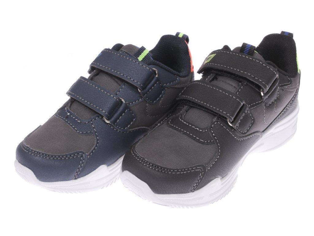 Buty sportowe granatowe biała podeszwa NOWE 31