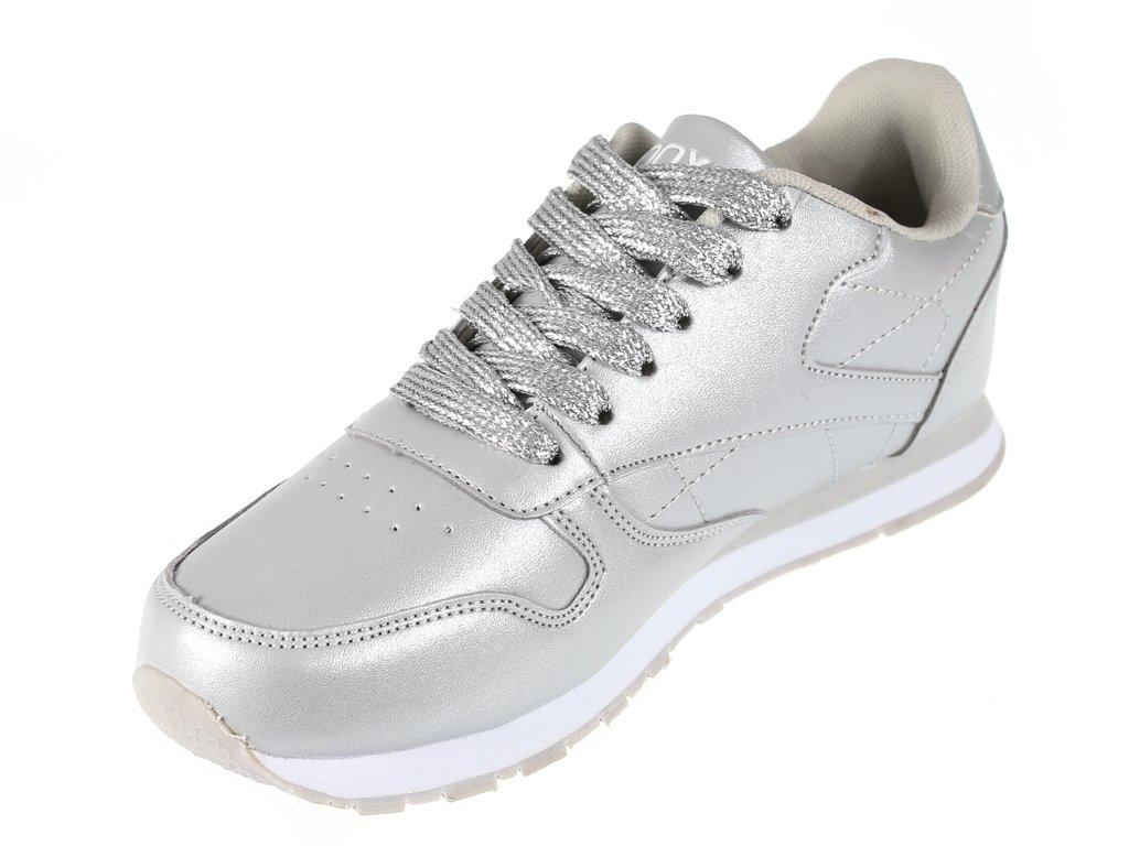 Buty sportowe damskie Badoxx DLXC 7236SI srebrne rozm.36 41