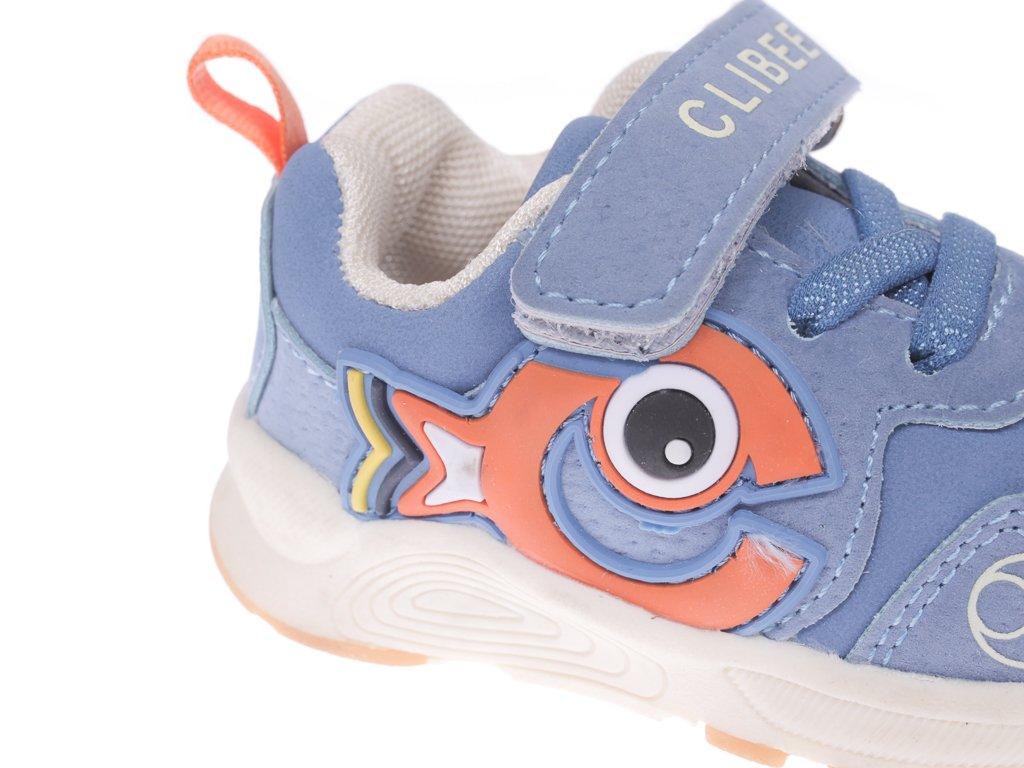 Buty sportowe dziecięce Clibee AK 306BU niebieskie rozm.20 25