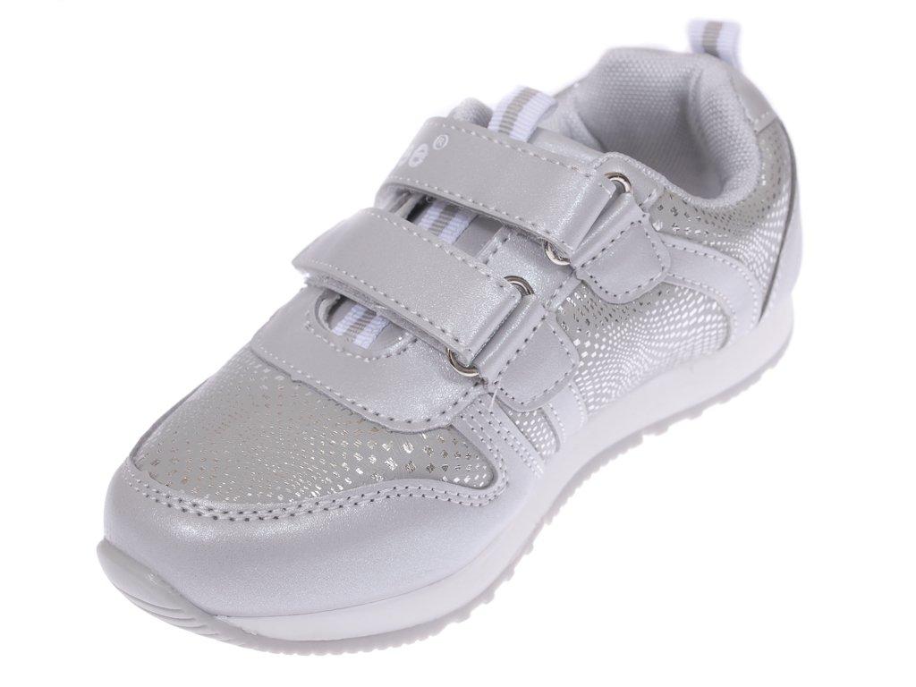 Buty sportowe dziecięce Clibee BF 808SI srebrne rozm.26 31