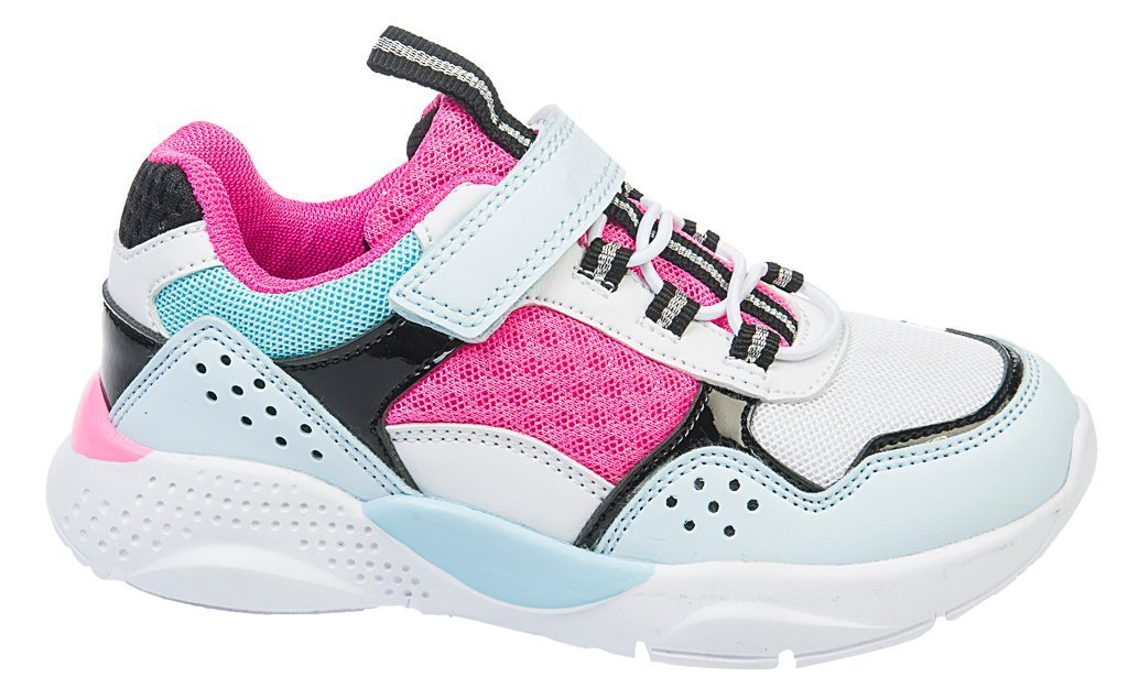 Buty sportowe dziecięce American Club CES 07 białe i czarne rozm.32 36