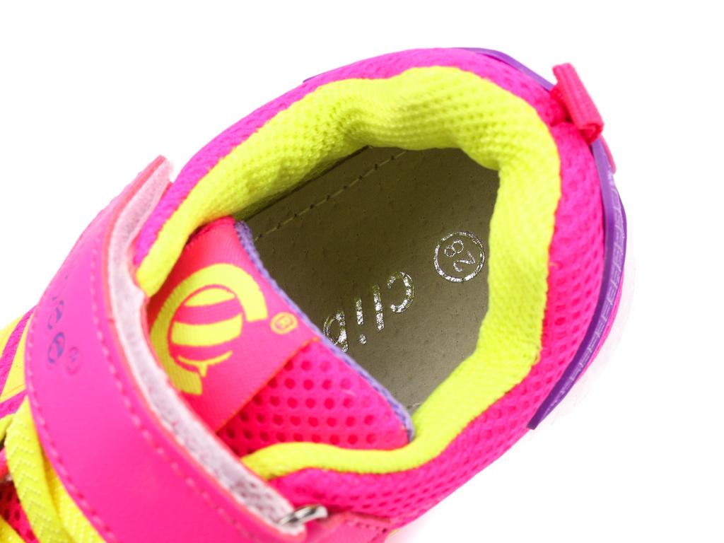 46e26f5864471f Clibee BF-617PEYE peach yellow rozm.26-31   Buty sportowe ...
