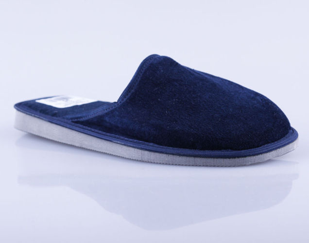 Men's textile slippers Cauldron M13GR navy blue size 41-45