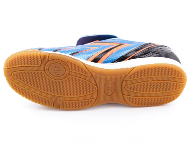Atletico N15102-1NICZ oversized men's indoor shoes blue and black size 47-49