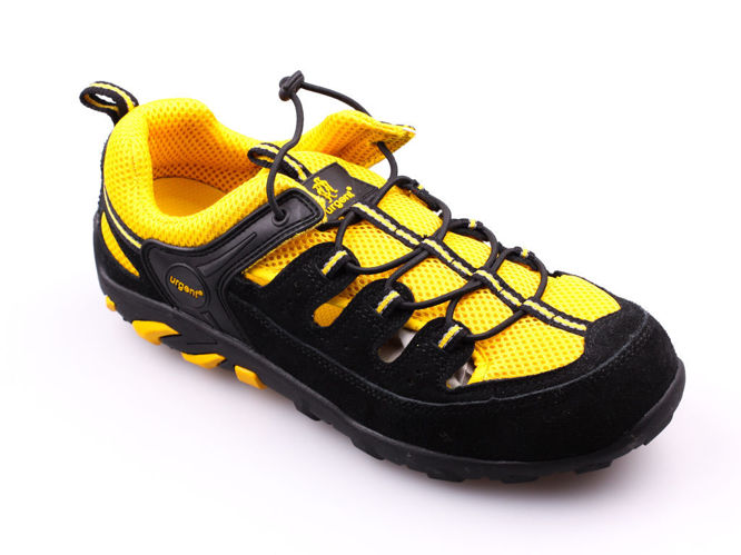 Urgent 311 S1 work boots, black and yellow, size 41-47