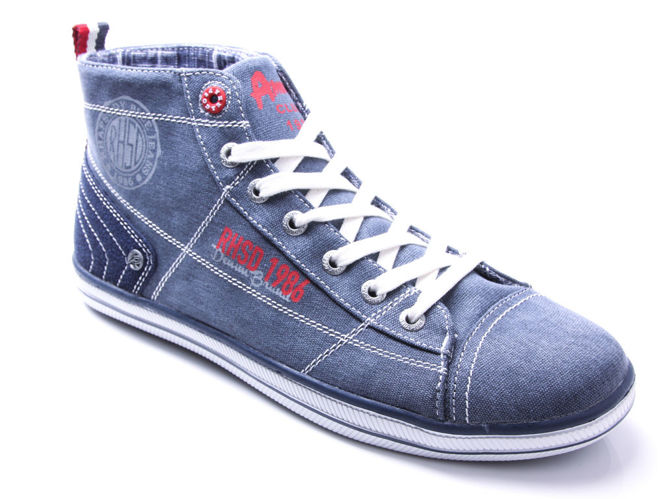 Men's trainers American Club M505096DE navy blue size.41-46