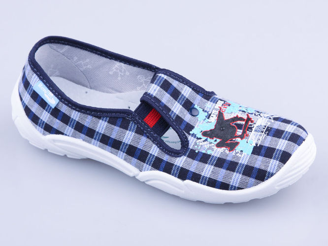 Children's sneakers for pairs Ren But RB33-371-0094 navy blue size 26-35
