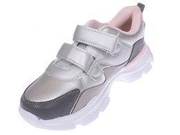 Buty sportowe dziecięce Clibee CL 87GYPI srebrne rozm.32 37
