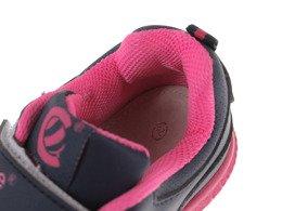 Buty sportowe dziecięce Clibee BF 612DBU granatowo różowe rozm. 26 31