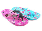 Women's pool slippers Lano DF4103-1 turquoise and pink, size 36-41