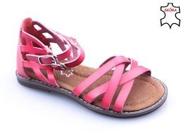 Children's sandals Apawwa BH551ME melon red size 26-30
