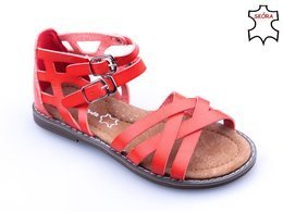Children's sandals Apawwa BH551RE red size 26-30