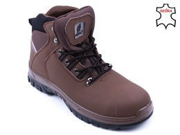 Urgent 124 S1 work boots brown size 40 and 46